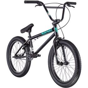 """Kink BMX Curb 20"""" matte guinness black"""